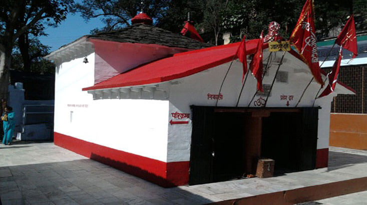 Jwalpa Devi, Pauri