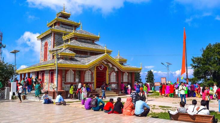 Surkanda Devi, Dhanaulti