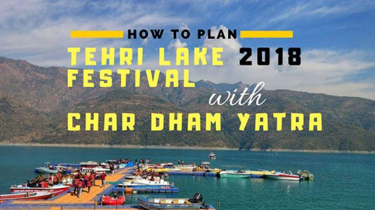 Tehri Lake Festival 2018