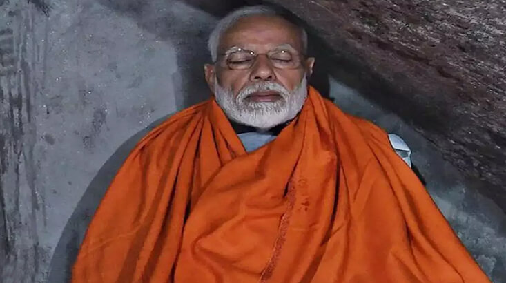 PM Modi Meditated Kedarnath Cave