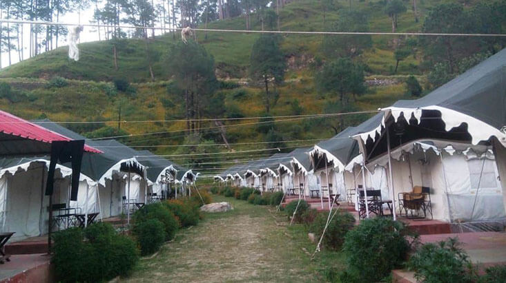 Camp Adhvanta in Barkot