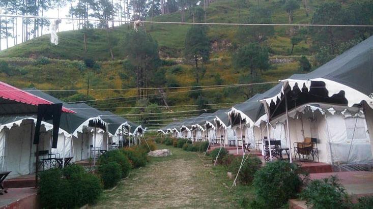 Camp Adhvanta in Barkot