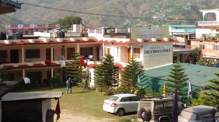 Hotel Devbhoomi in Barkot