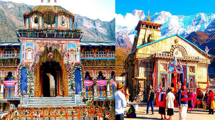 Kedarnath Badrinath Tour