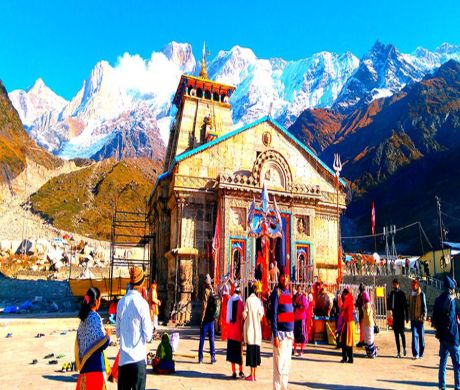 Kedarnath-Shrine